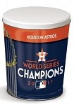 Astros World Series Champ Popcorn Tin