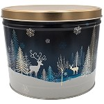 Gourmet Popcorn Tin 2 Gallon Crystal Evening