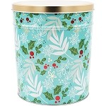 Gourmet Popcorn Tin 3 1/2 Gallon WintersCharm