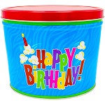 Gourmet Popcorn Tin 2 Gallon Birthday Pop